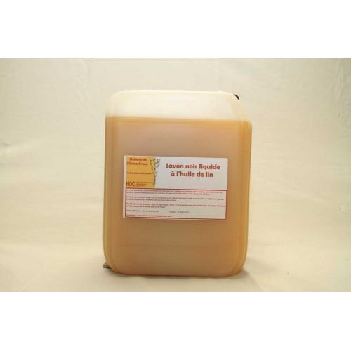 Savon noir liquide à l'huile de lin 4.5l