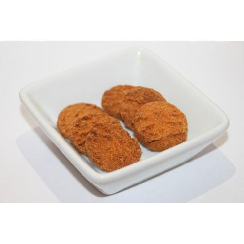 Biscuits salés à la farine de lin doré, tomates et herbes de provence