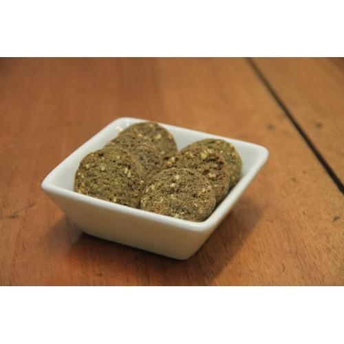 Biscuits sucrés à la farine de chanvre et graines de sésame