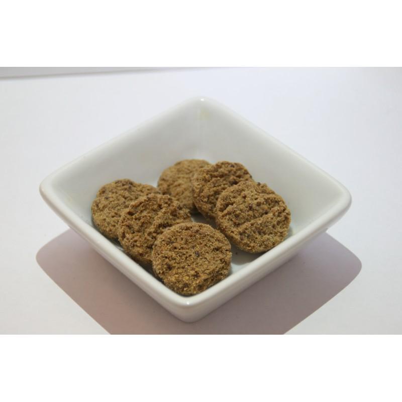 Biscuits salés à la farine de chanvre et romarin