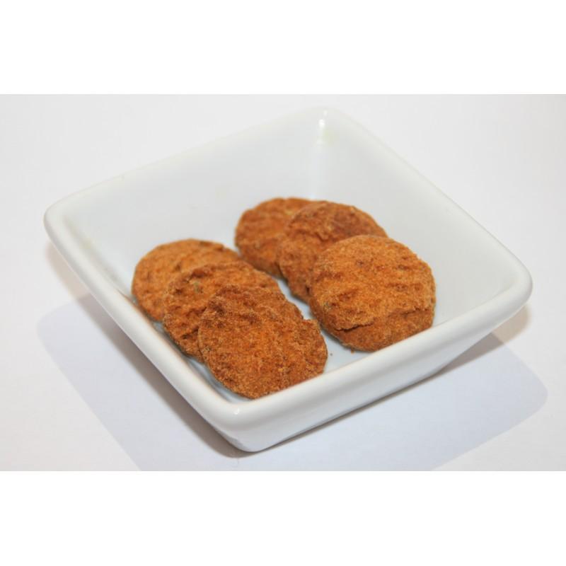 Biscuits salés à la farine de lin doré, tomate et herbes de Provence